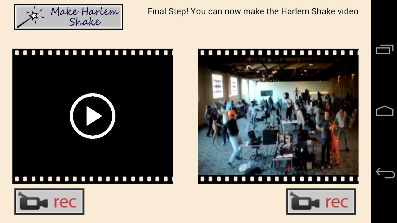 Harlem Shake Maker Slow Motion- screenshot