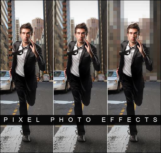 ピクセル写真効果