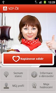 Give Blood with VZP - screenshot thumbnail