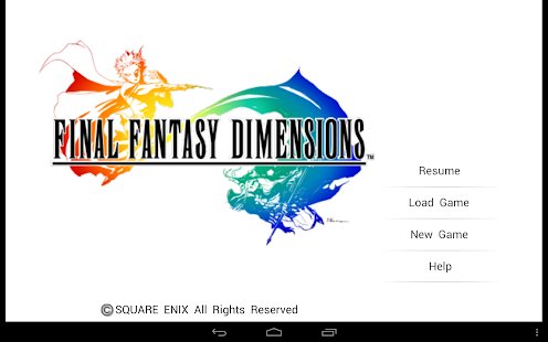 FINAL FANTASY DIMENSIONS- screenshot thumbnail