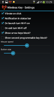Wireless Key control panel - screenshot thumbnail