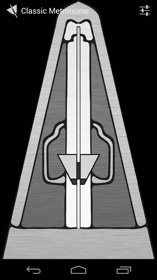 Classic Metronome Free - screenshot