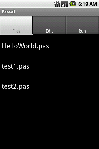 Pascal- screenshot