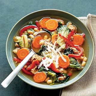 Chorizo-White Bean Soup
