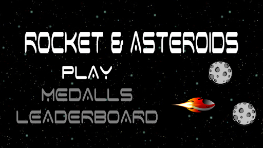 Rocket And Asteroids