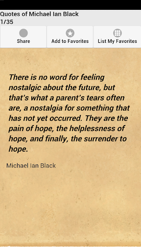 Quotes of Michael Ian Black