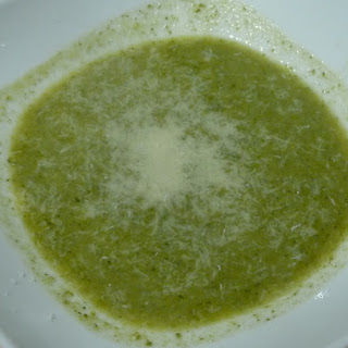 Broccoli and Lettuce Soup