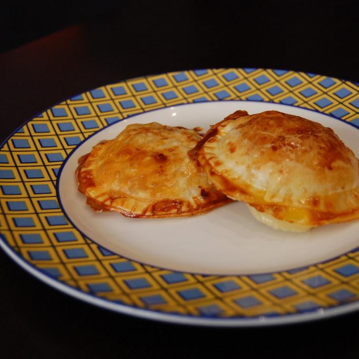 Mango and Gorgonzola Empanadas