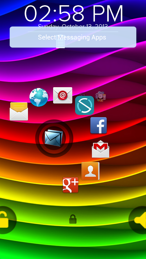 Rainbow Wave - Start Theme - screenshot