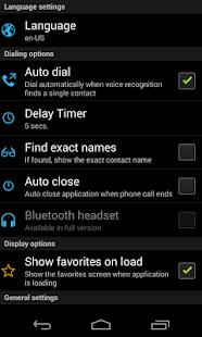 Speak 2 Call Free-Voice dialer - screenshot thumbnail