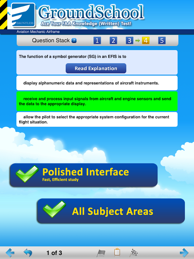 FAA A&P Airframe Test Prep- screenshot