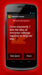 Teamwork Quotes - screenshot thumbnail