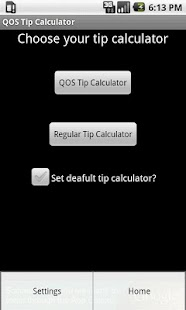 QOS Tip Calculator (Ad Free)- screenshot thumbnail