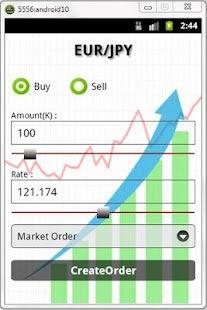 ForexTrading Android app - screenshot thumbnail