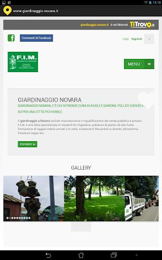 Giardinaggio Novara