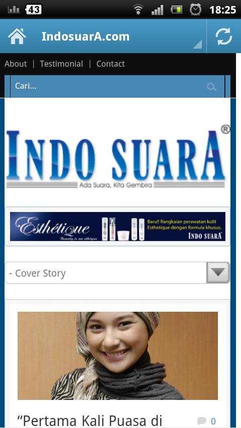 IndosuarA- screenshot