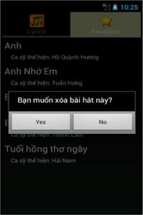 Loi bai hat - Lời bài hát - screenshot thumbnail