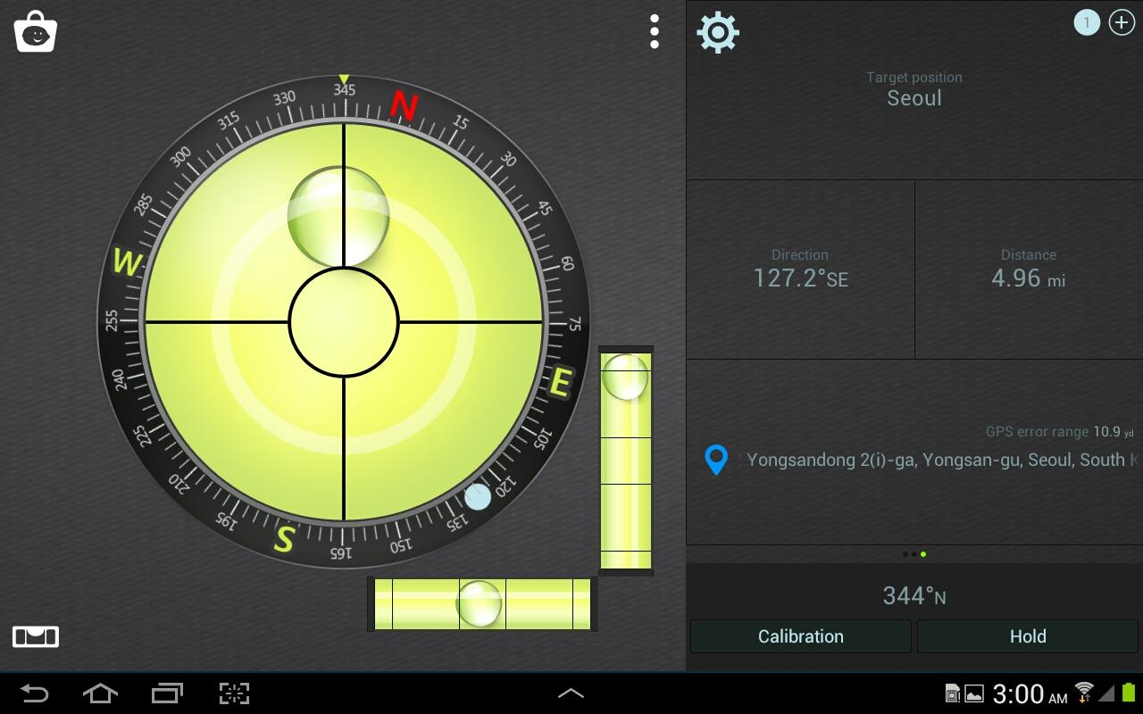 Compass Level - screenshot