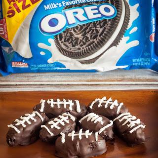 OREO Cookie Ball Footballs.
