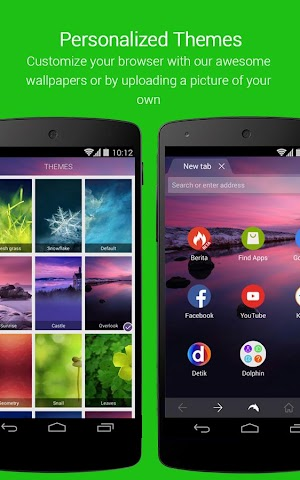 Screenshot 2 Dolphin Browser für Android ????