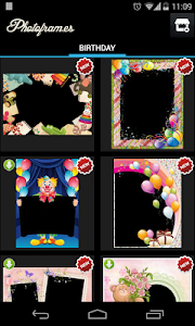 Birthday Photo Frames screenshot 1