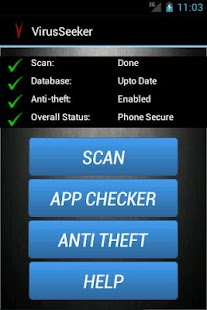 Virus Seeker Mobile Security- screenshot thumbnail
