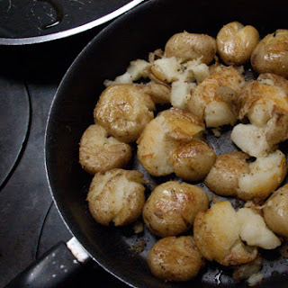 Lori's Skillet Smashed Potato