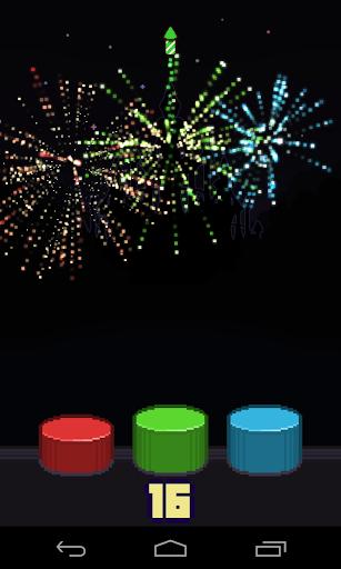 Tap the Fireworks Fast: WizWiz
