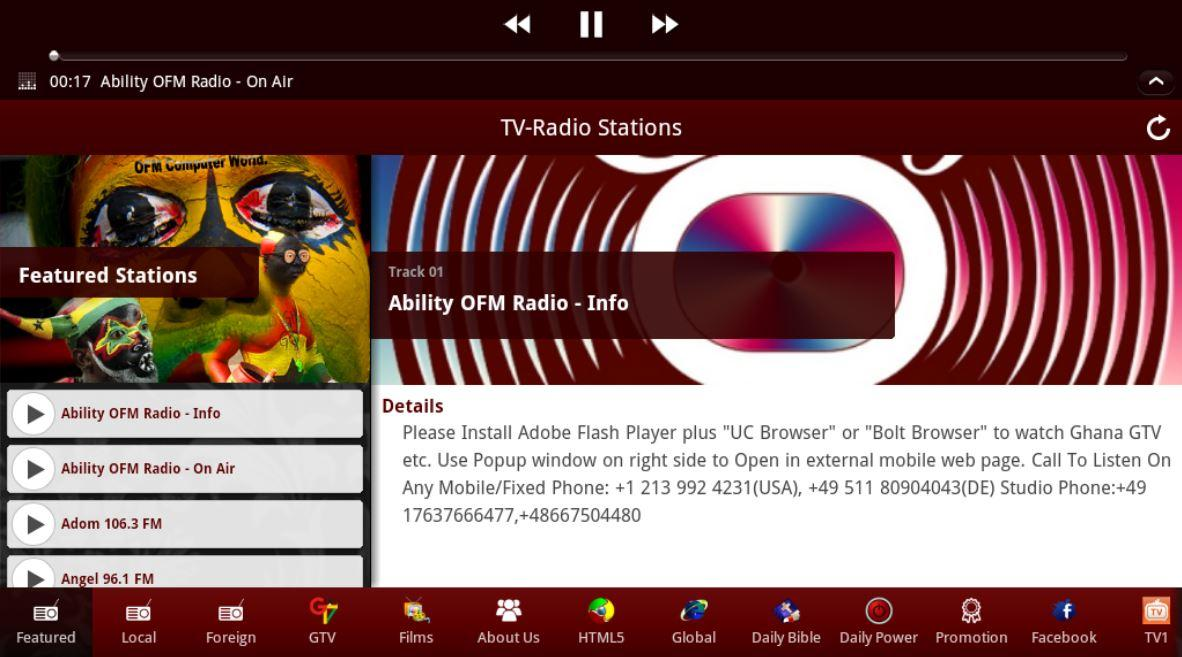 Ghana TV-Radio Stations - Android Apps on Google Play