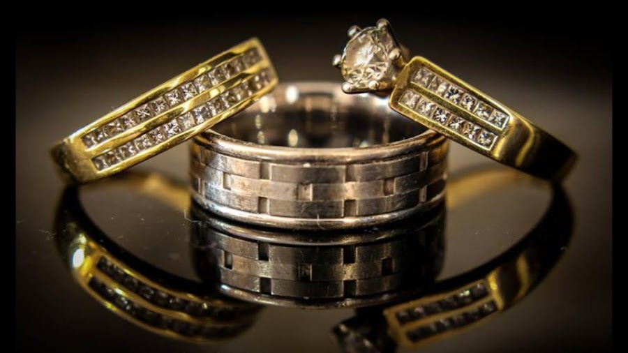 Our wedding rings by Aaron Clark - Wedding Details