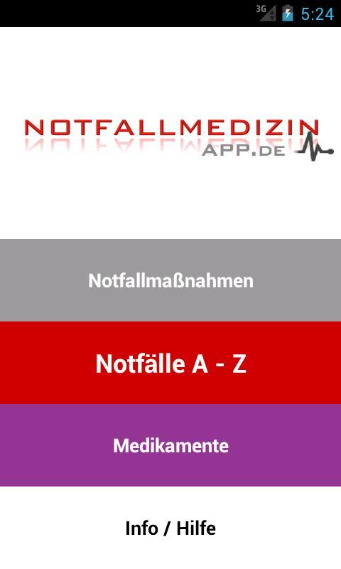 Notfallmedizin- screenshot