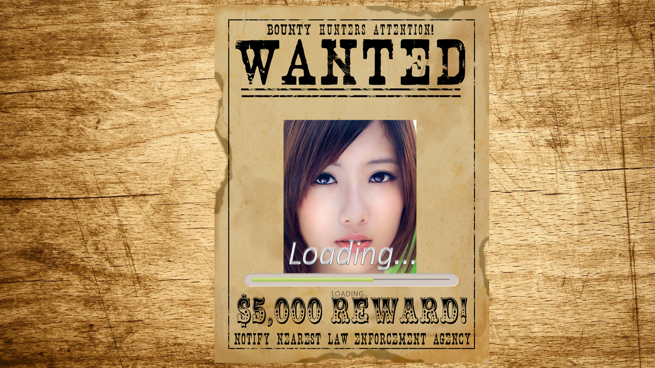 most wanted photo poster frame screenshot - Most Wanted Picture Frame