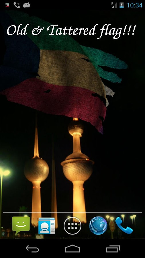 3d kuwait flag android apps on google play for Home wallpaper kuwait