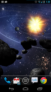 Asteroid Belt Free L Wallpaper - screenshot thumbnail