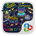 Neon City Dynamic Theme icon