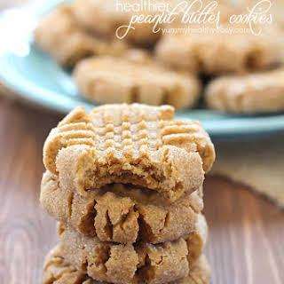 Healthier Easy Peanut Butter Cookies.