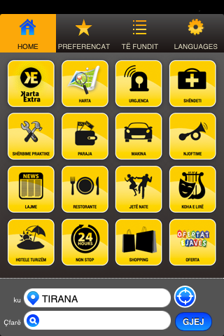 Albania Yellow Pages- screenshot