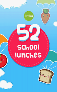 52 School Lunches- screenshot thumbnail
