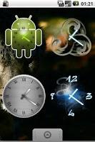 Screenshot of Beautiful Clock Widget