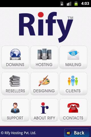 Rify Hosting