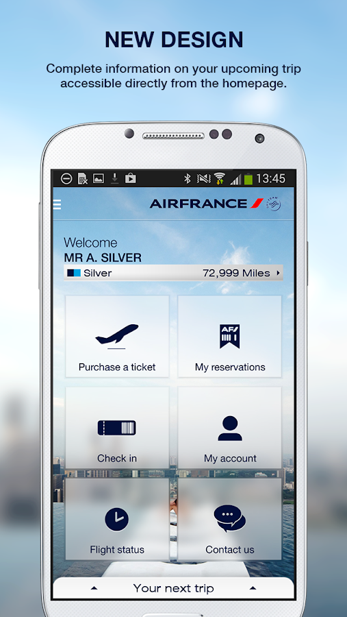 Air France - screenshot