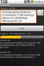 Cara Extract File Rar di Android dengan Unrar Pro