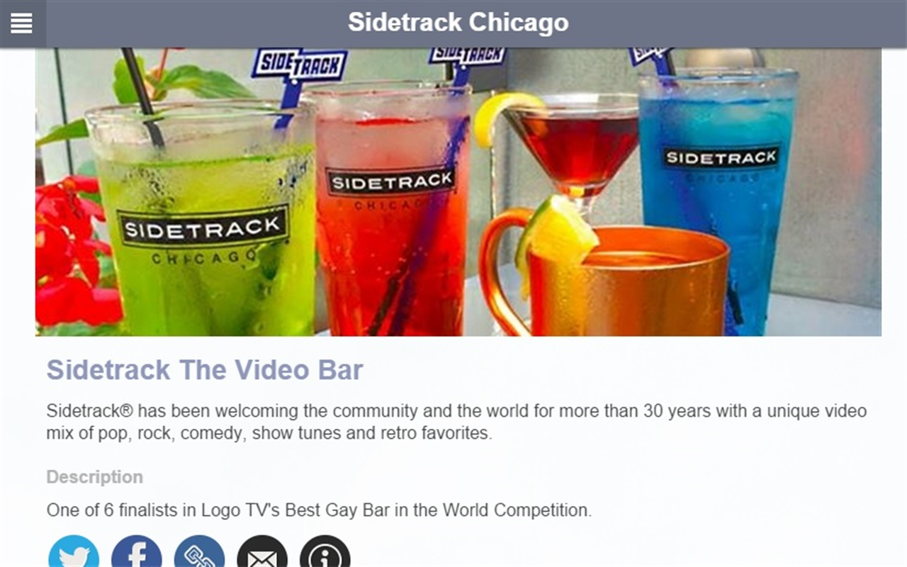 Sidetrack The Video Bar- screenshot