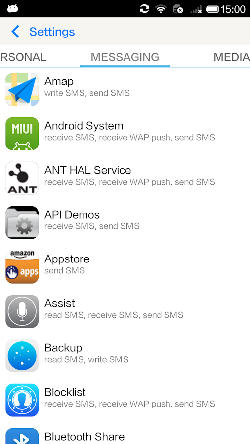 Permission Manager - App ops - screenshot