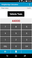 Screenshot of Weighbridge Calculator