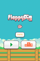 Screenshot of Flappy Pig