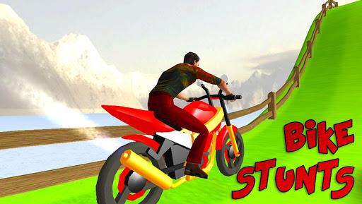 Bike Stunt Man Crazy Heights