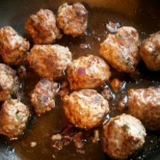 Pasta And Meatballs.