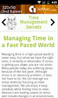 Screenshot of Time Management Secrets