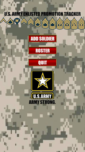 Army Promotion Tracker
